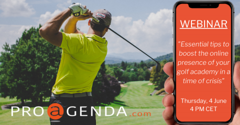 June 4th: Essential tips to boost the online presence of your golf academy in a time of crisis.