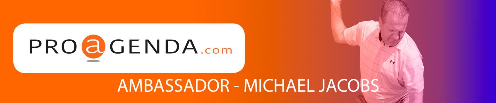new ambassador of proagenda.com michael jacobs